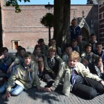 Groepsfoto in Utrecht