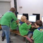 Chatten met andere Scoutinggroepen