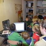 Pictionary spelen op een zelfgebouwde computer