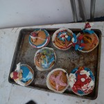 Zelfversierde cupcakes